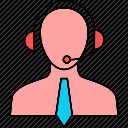 bpo, call, care, centre, contact us, customer, services icon