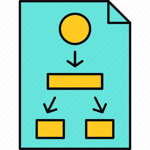 business, chart, diagram, flow, graph, work icon