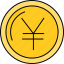 currency, finance, financial, money, payment, yen icon
