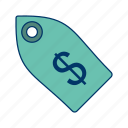 business tag, finance, label, price, tag icon