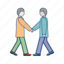 coperation, deal, management, partnership, teamwork icon
