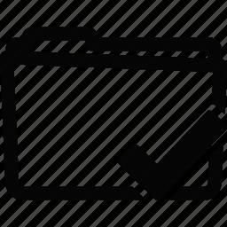 folder, valid icon