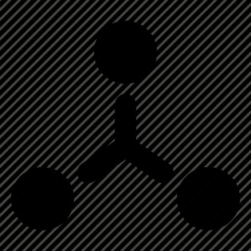 connection, diagram, hierarchy, team, teamwork icon