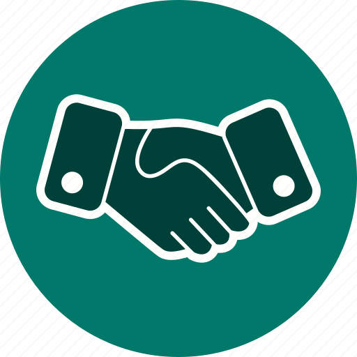 agreement, business deal, hand shake, handshake icon