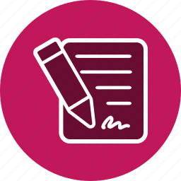 agreement, contract, document, documents, files, sheet icon