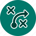 plan, strategy, tactics icon