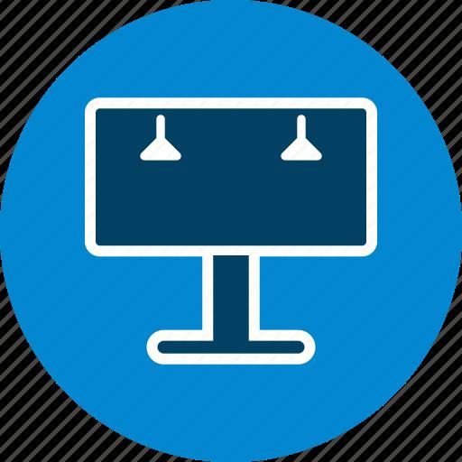 advertisement, advertising board, bill board icon