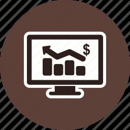 analytics, business, business chart, graph, statistics icon