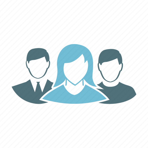 group, human, person, profile, user, users, woman icon