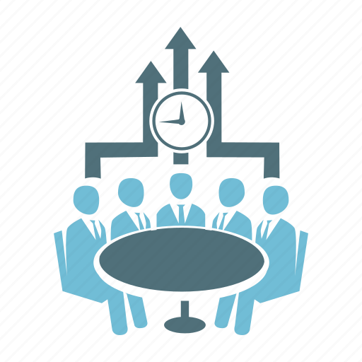 business, conference, conversation, discussion, group, meeting, people icon
