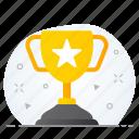 achievement, award, champion, trophy, win, winner icon
