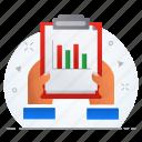 analytics, business, chart, diagram, graph, statistics icon