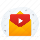 business, document, email, file, media icon