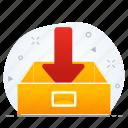 business, document, folder icon