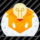 box, business, creative, creativity, idea icon