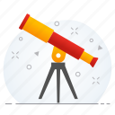 astronomy, business, forecast, vision, visualization icon