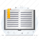 book, business, document, office icon