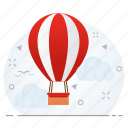 air, balloon, business, hot icon