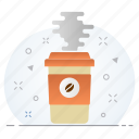beverage, business, coffee, drink, hot icon