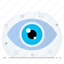 business, look, view, vision icon