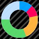 circular, chart, charts, graph icon
