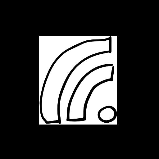 handdrawn, internet, network, range, reach, wifi icon