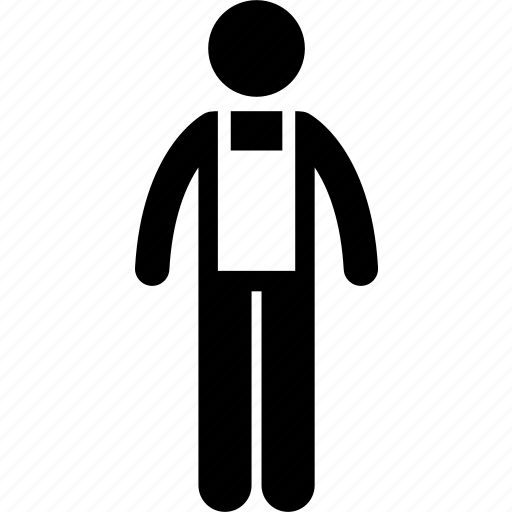 apron, man, people, promoter, salesman, seller, waiter icon