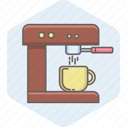 beverage, coffee, cup, drink, hot, machine, maker icon
