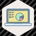 presentation, analysis, chart, diagram, graph, screen, tablet