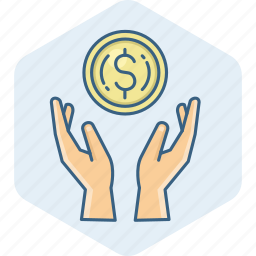 business, cash, dollar, finance, money, payment, save icon