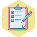 checklist, clipboard, item, items, list, task, tickmark icon