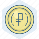 cash, currency, money, payment, philippine peso, sign icon