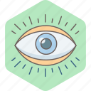 explore, eye, eye checkup, eye test, look, magnifying, view icon