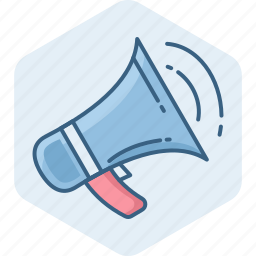 announce, announcement, loud, megaphone, sound, speaker, volume icon