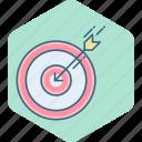 bullseye, dartboard, aim, dart, focus, goal, target