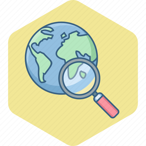 business, country, find, magnifier, search, seo, web icon