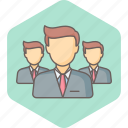 business, group, management, office, people, team, work icon