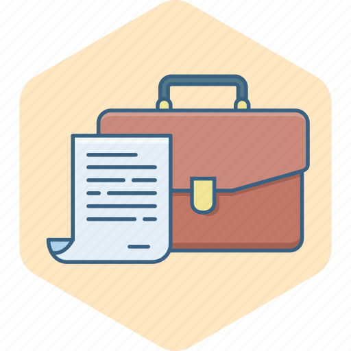 bag, business, document, documents, folder, office, paper icon