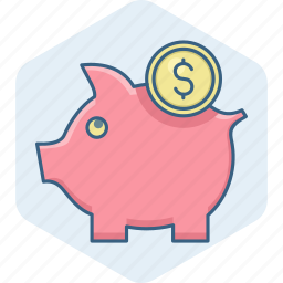 bank, banking, business, currency, dollar, money, piggy icon