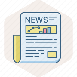 article, communication, letter, media, news, newspaper, post icon