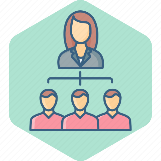 Group, hierarchy, business, management, people, structure, team icon - Download on Iconfinder