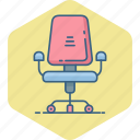 boss, chair, wheel, business, furniture, office, seat