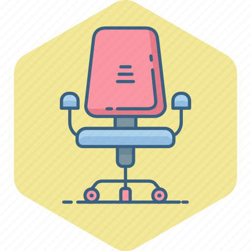 boss, business, chair, furniture, office, seat, wheel icon
