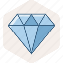 business, diamond, gem, jewel, jewelry, work icon
