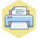document, page, paper, print, printer, printing, sheet icon