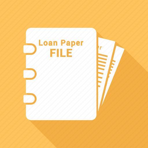 agreement, contract, document, file, loan paper, paper icon
