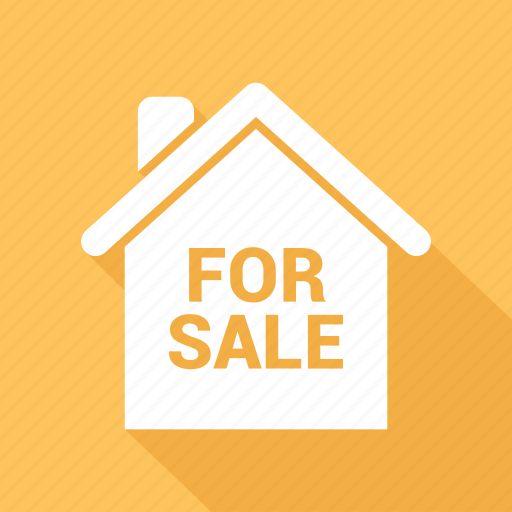 for sale, house, sale icon