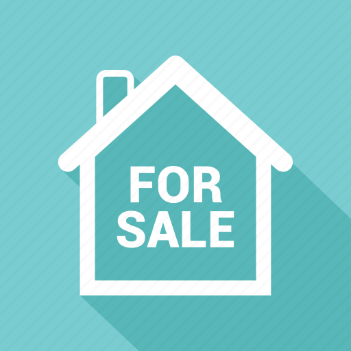 for sale, house icon