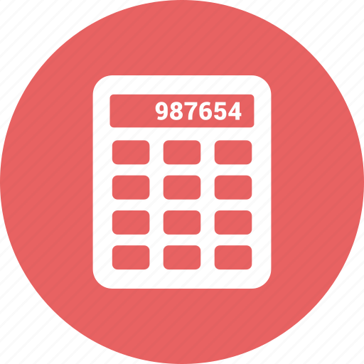 accounting, budget, calculate, calculation, calculator, count icon