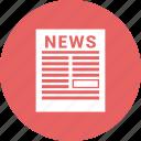news, newsletter, news paper